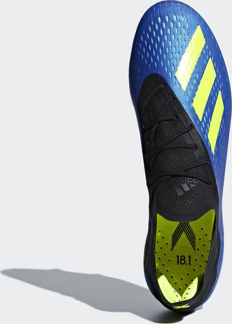 adidas X 18.1 SG football bluesolar yellowcore black