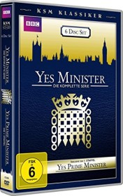 Yes Minister - komplette Staffel und Yes, Prime Minister Staffel 1 (DVD)