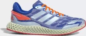 adidas 4D Run 1.0 glow blue/cloud white/solar red (FW1231)
