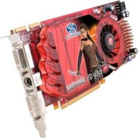 Sapphire Radeon HD 3850, 256MB DDR3, 2x DVI, S-Video, PCIe 2.0, bulk/lite retail (21121-00-/11121-09-10/-20)