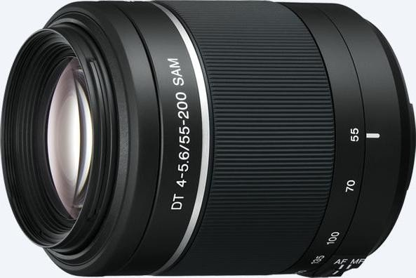 Sony 55-200mm 4.0-5.6 DT SAM black (SAL-55200-2)