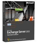 Microsoft Exchange Server 2003 Enterprise, 25 User (German) (PC) (395-02834)