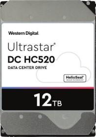 Western Digital Ultrastar DC HC520 12TB, 4Kn, SE, P3, SATA 6Gb/s (HUH721212ALN604 / 0F29622)
