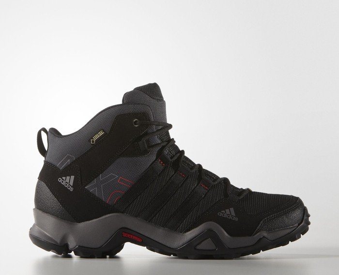 adidas AX 2.0 mid GTX dark grey/core black/scarlet (men) (Q34271)