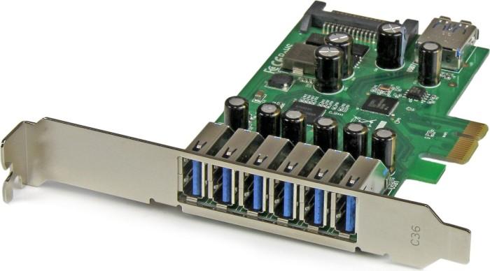 StarTech PEXUSB3S7, 7x USB-A 3.0, PCIe x1