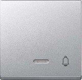 Merten System M Wippe Thermoplast edelmatt, aluminium (430860)