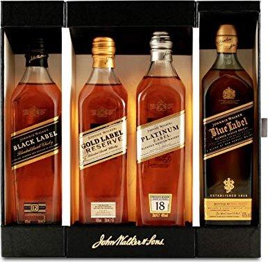 Johnnie Walker Collection 4x 200ml -- via Amazon Partnerprogramm