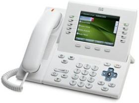 Cisco 8961 Unified IP Phone Slimline weiß (CP-8961-WL-K9)