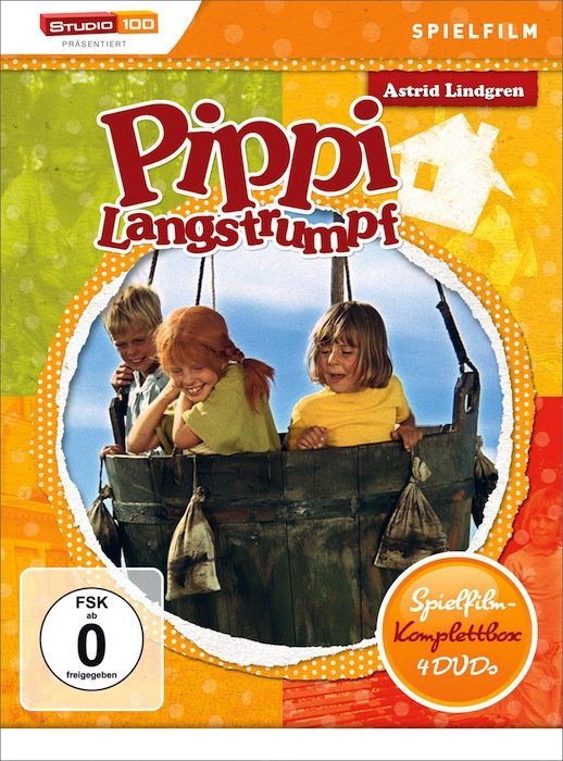 Pippi Langstrumpf Spielfilm Box