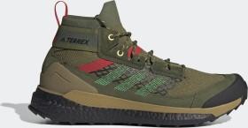 adidas Terrex Free Hiker wild pine/vivid green/vivid red (Herren) (FX4534)