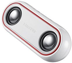 Samsung SP-100 speakers white