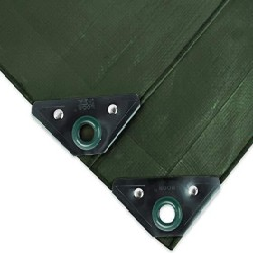 Noor Super Garten-Abdeckplane grün 5x6m (0400506SXXGR)