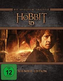 Der Hobbit Box Extended Edition (Filme 1-3) (3D) (Blu-ray)