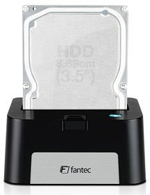 Fantec MR-SATA docking station black, USB 2.0 (1605)