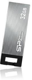 Silicon Power Touch 835 grau 16GB, USB-A 2.0 (SP016GBUF2835V1T)