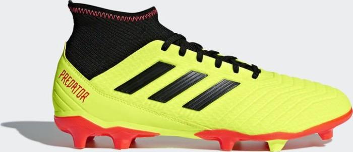 ead644e95086 adidas Predator 18.3 FG solar yellow core black solar red (men ...