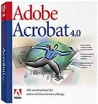 Adobe: Acrobat 4.0 (multilingual) (PC) (22001242)