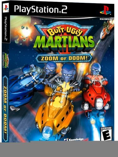 Butt Ugly Martians: Zoom or Doom (niemiecki) (PS2) -- via Amazon Partnerprogramm