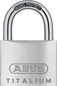 ABUS TITALIUM-Vorh/ängeschloss 64TI//45 B//SB 56961