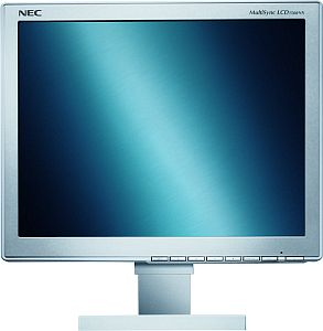"NEC MultiSync LCD1560NX silver/light grey, 15"", 1024x768, analog/digital (60000940/60001355)"
