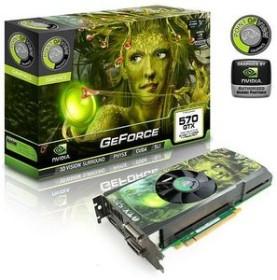 Point of View GeForce GTX 570, 2.5GB GDDR5, 2x DVI, HDMI, DP (VGA-570-A2)