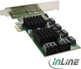 InLine 76617G, 8x SATA 6Gb/s, PCIe 2.0 x1