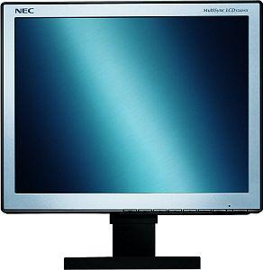 "NEC MultiSync LCD1560NX-BK srebrny/czarny, 15"", 1024x768, analogowy/cyfrowy (60000941/60001357)"