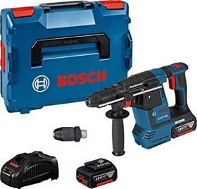 Bosch Professional GBH 18V-26 F Akku-Bohr-/Meißelhammer inkl. L-Boxx + 2 Akkus 5.0Ah (0611910007)