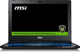 MSI WS60 6QJE316H21 - Workstation (0016H8-SKU1521)