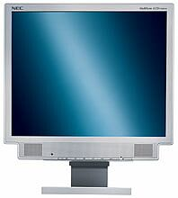 "NEC MultiSync LCD1560VM weiß, 15"", 1024x768, analog/digital, Audio (60000905)"