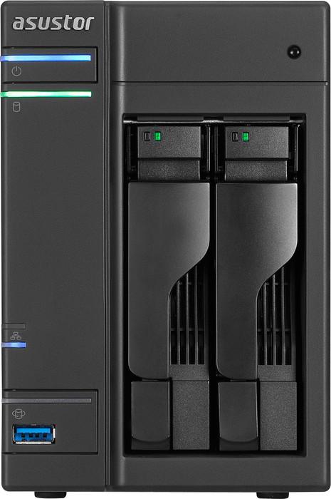 Asustor AS-202T, 1x Gb LAN (90IX00A1-BW3S10)