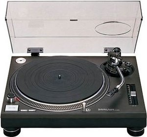 Technics SL-1210MK2XG Turntable black