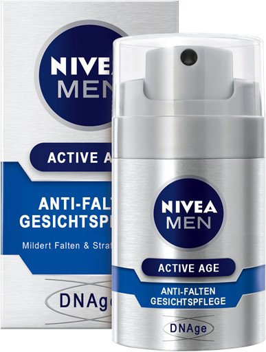 Nivea For Men Active Age anti-wrinkle face cream 50ml