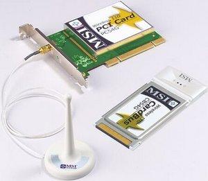 MSI MS-6839, 11GNK-01 wireless network kit