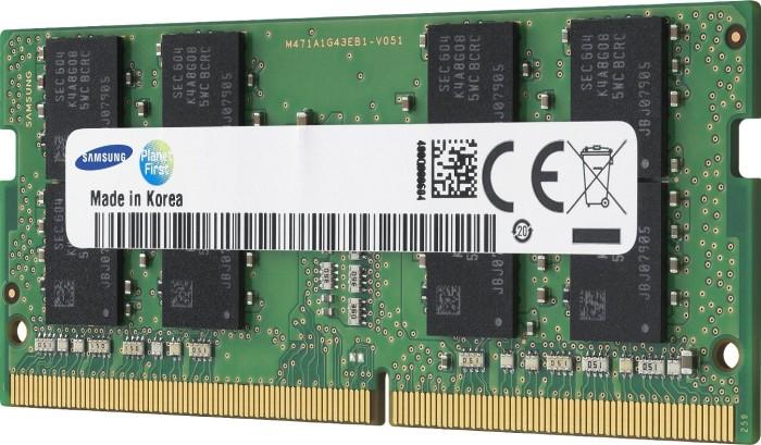 Samsung SO-DIMM 8GB, DDR4-2400, CL17-17-17 (M471A1K43CB1-CRC)