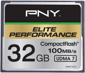 PNY R100/W50 CompactFlash Card [CF] Elite Performance 32GB
