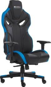 Sandberg Voodoo Gamingstuhl, schwarz/blau (640-82)