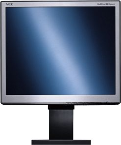 "NEC MultiSync LCD1860NX-BK black, 18"", 1280x1024, analog/digital (60000902)"