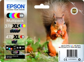 Epson ink 378 XL/478 XL multipack (C13T379D4010)