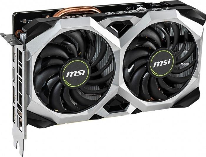 MSI GeForce RTX 2060 Ventus XS 6G OC, 6GB GDDR6, HDMI, 3x DP (V375-035R)