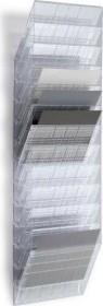 Durable Prospekthalter Flexiboxx 12, A4 Querformat, 12 Fächer, transparent (1709781400)