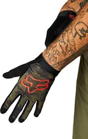 Fox Racing Flexair Ascent cycling gloves olive green (27377-099)