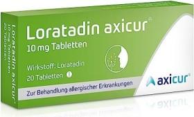 axicorp Pharma Loratadin axicur 10mg Tabletten, 50 Stück