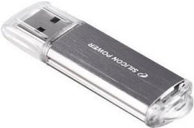 Silicon Power Ultima II I-Series silber 64GB, USB-A 2.0 (SP064GBUF2M01V1S)