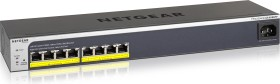 Netgear ProSAFE GS400 Easy-Mount desktop Gigabit Smart switch, 8x RJ-45, PoE+ (GS408EPP-100)