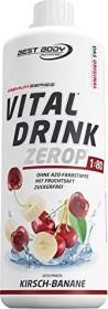 Best Body Nutrition Low Carb Vital Drink Banane/Kirsch 1l