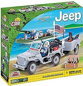 Cobi Small Army Jeep Willys MB Navy (24193)