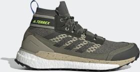 adidas Terrex Free Hiker grey/core black/signal green (Herren) (EF0368)
