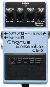 Boss CE-5 chorus ensemble effects unit
