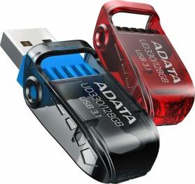 ADATA FlashDrive UD330 128GB schwarz, USB-A 3.0 (AUD330-128G-RBK)